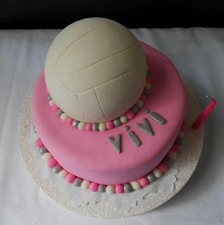 Volley Cake by Violeta Glace