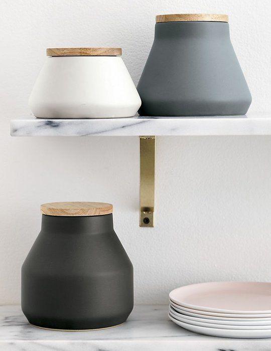 Modern Kitchen Jars best 25+ canisters for kitchen ideas on pinterest | kitchen