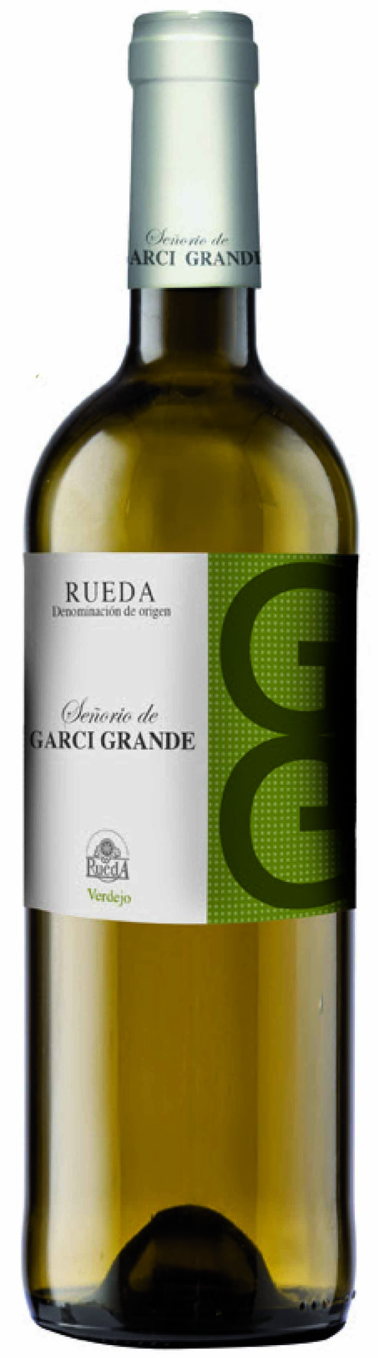 El mejor vino Rueda GarciGrande Verdejo #whitewine #wine #packaging #label #deign