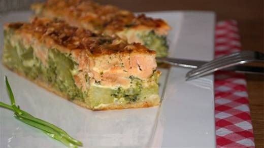 Zalm-broccoliquiche