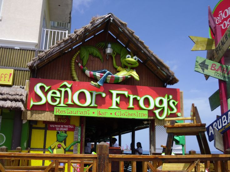Nassau Bahamas Senor Frogs Is A Must Go To Place Along