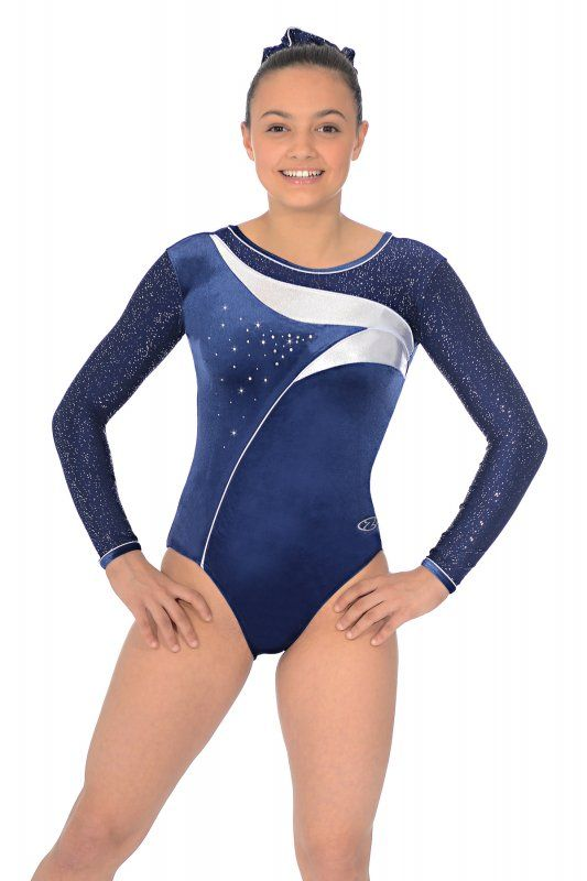 435b080e6e12 The Cosmic long sleeved gymnastics leotard from The Zone. A ...