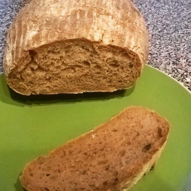 Kváskový pšenično-ražný chlieb (fotorecept) - obrázok 8