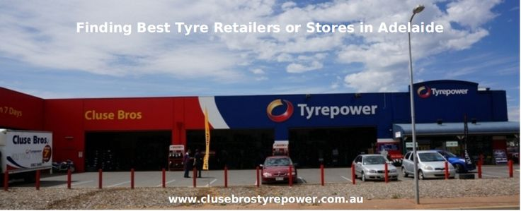 Find best tyre retailers in Adelaide near to you and save on a huge range of tyres. Buy best quality tyres from our tyre stores Adelaide at a reasonable price.