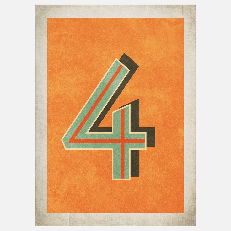 17 Best images about Number Four - 4 on Pinterest   Rusted ...