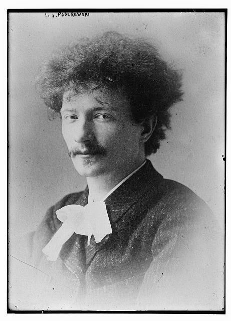 Paderewski early in his career.