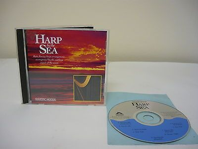 Harp By The Sea CD New Age Easy Listening Sonatina #2 Sea Swells Star Fish