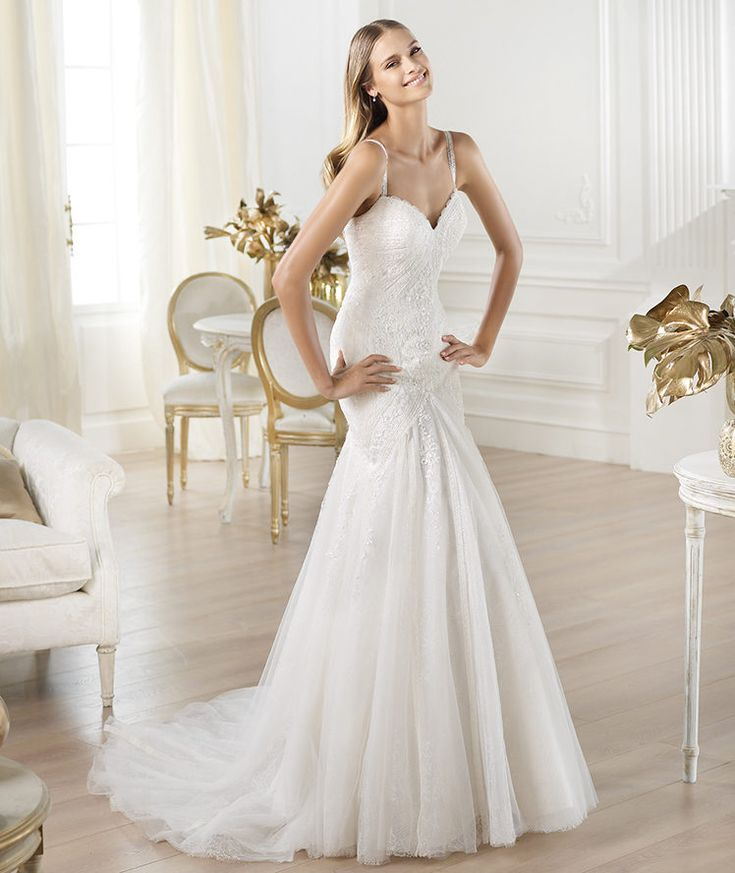 10 best Pronovias and San Patrick Gowns images on Pinterest ...