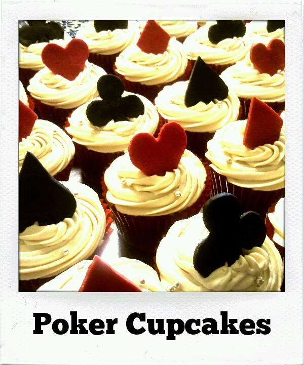 Poker Cupcakes (these are cute and simple, I think maybe my favourite)