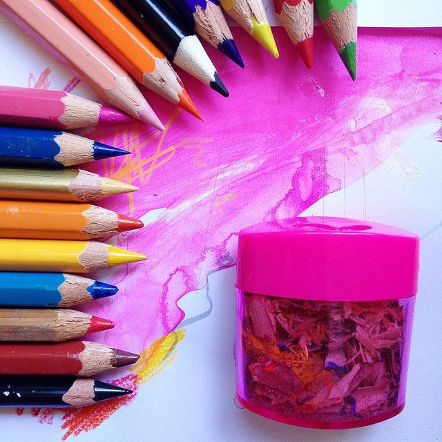 Get your pencils sharpened (as well as your blogging brain) - it's autumn (by @iHanna) #yay