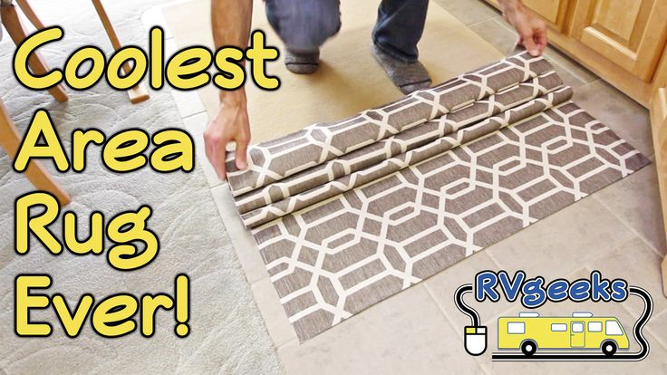 TheRVgeeks show how great their new two-piece, washable area rug from Ruggable.com is for RVs... and give you a chance to win one of two $250 Ruggable.com Gift Certificates in their latest contest!