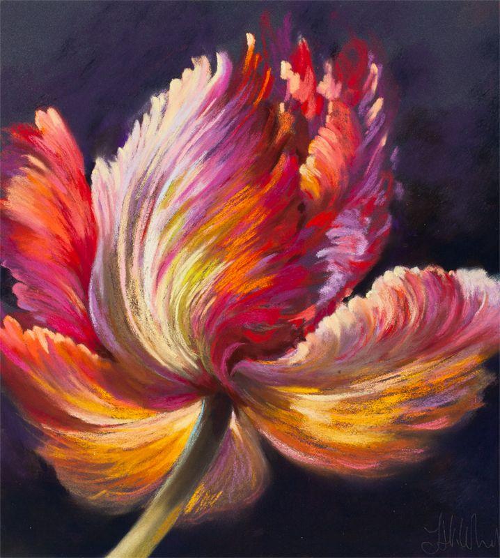 Oil Pastel Art, Oil Pastel