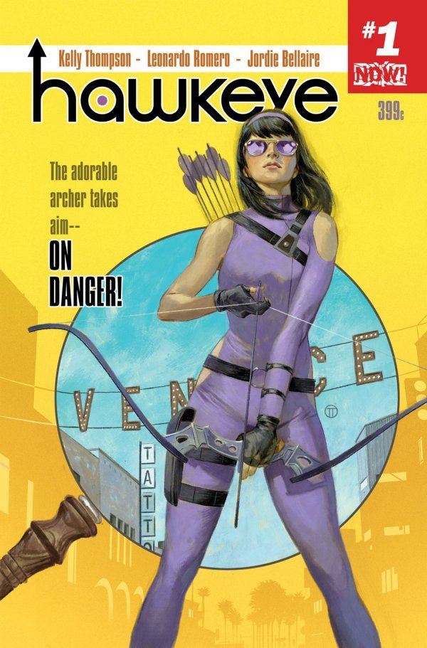 Marvel Previews New 'Hawkeye' Ongoing Series