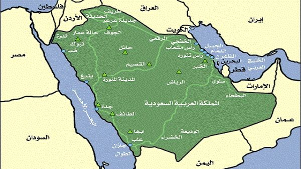 Image Result For خريطة السعودية Map Screenshots Map Screenshot