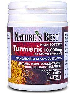 Turmeric Tablets 10,000mg