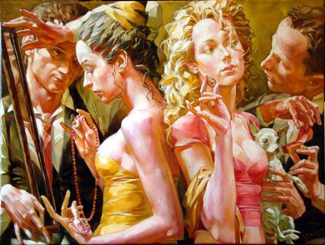 alexej ravski art | Oil on canvas 38.00 x 61.00 cm