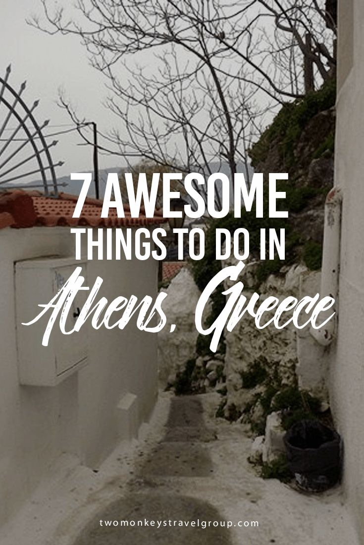 7 Awesome Things to Do in Athens, Greece The birthplace of democracy, the capital of Greece, Athens captures the heart of its visitors. Its architecture has been marked by Roman, Byzantine, and Ottoman civilizations, which accompany the classic Greek style.