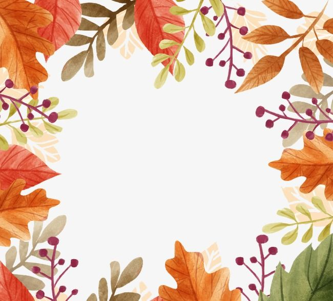 Fall Leaves Border Clip Art Fall Clip Art Fall Leaves Coloring Pages Fall Leaves Png