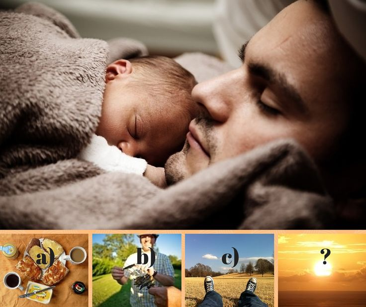 Father's Day is just around the corner. How will you celebrate? a) Breakfast in bed b) Lunch with friends c) He's allowed to relax d) We don't do anything