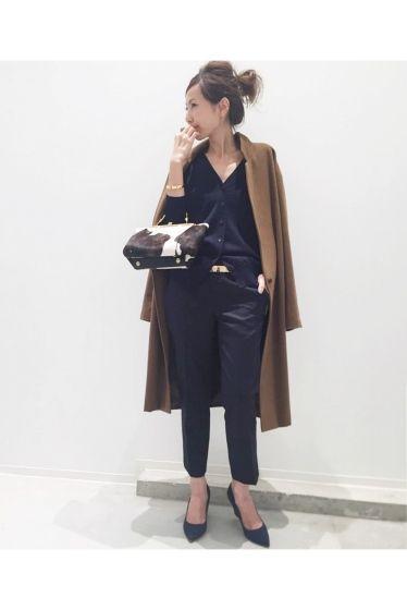 L'Appartement DEUXIEME CLASSE(アパルトモン ドゥーズィエム クラス) Wool Cropped Pants◆   スタイルクルーズ
