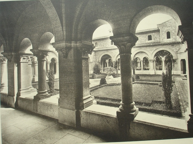 lou seuil aka chateau balsan eze france achille duch ne designed 1921 the cloisters at