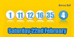 Here are tonight's Health Lottery results for Saturday 22nd February, after two lucky winners took home the £100,000 jackpot http://health-lottery.org/health-lottery-results-22nd-february/