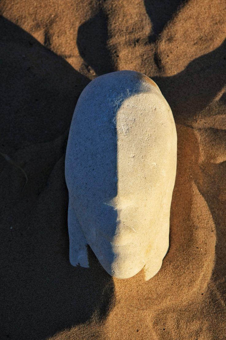 Il silenzio #gfscultore #spiaggiapanfilo #termoli #sabbia