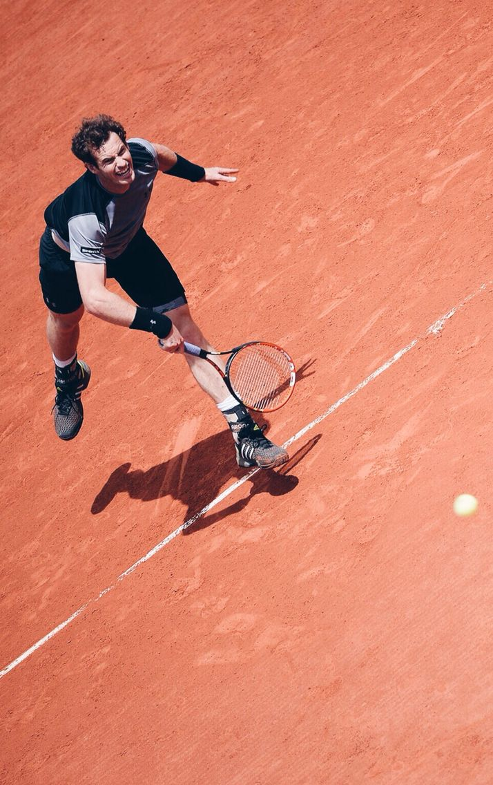 Andy Murray / French Open 2015