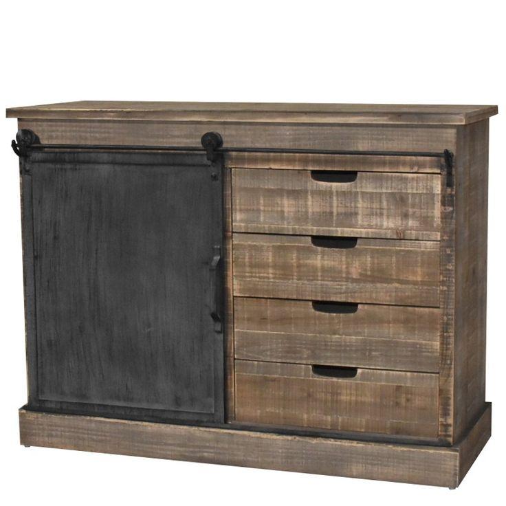 les 25 meilleures id es de la cat gorie bahut industriel sur pinterest d corations de commode. Black Bedroom Furniture Sets. Home Design Ideas