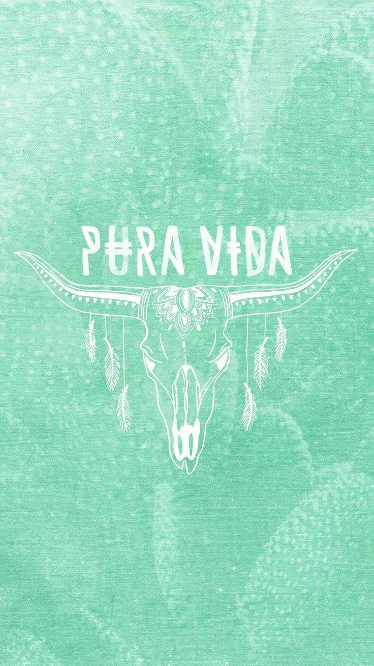 Pura Vida wallpaper Bohemian iphone wallpaper, Cute