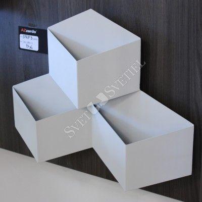 AZzardo Step 3 White - Nástenné svietidlá