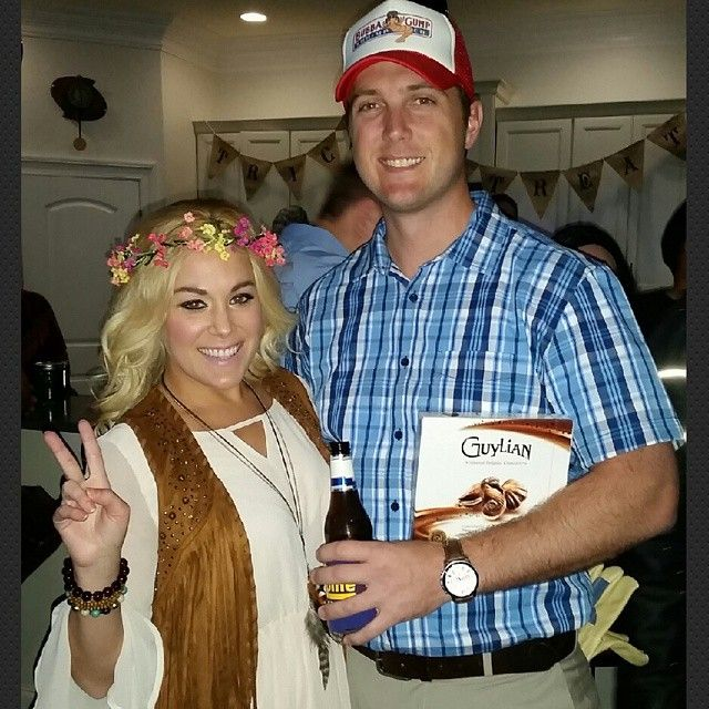 Pin for Later: 36 Couples Costume Ideas That Are Ridiculously Cheap Forrest Gump and Jenny