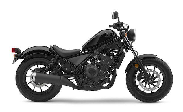 World Debut Of 2017 Honda Rebel 500 And Rebel 300