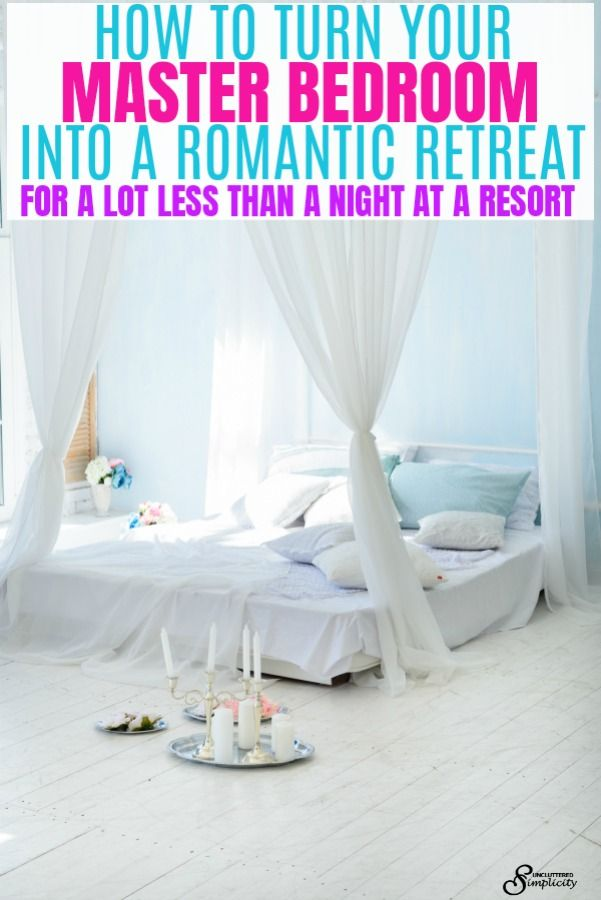 Superb How To Turn Your Master Bedroom Into A Romantic Retreat | DIY Valentine,  Frugal And Master Bedroom Great Pictures