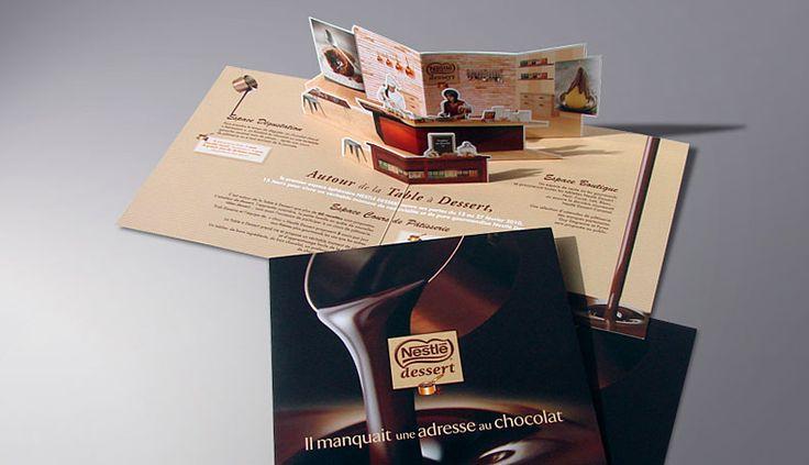 Nestlé desserts - Pop-up