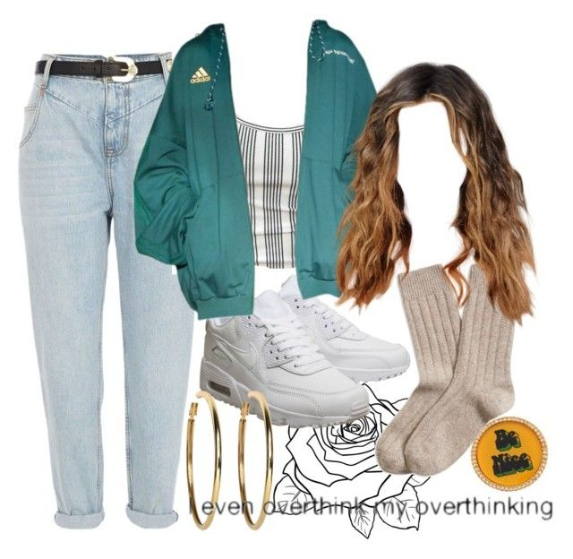 """""""Untitled #119"""" by sunsetsandflowers on Polyvore featuring Marc by Marc Jacobs, River Island, Brooks Brothers, NIKE, Gosha Rubchinskiy and Kenneth Jay Lane"""