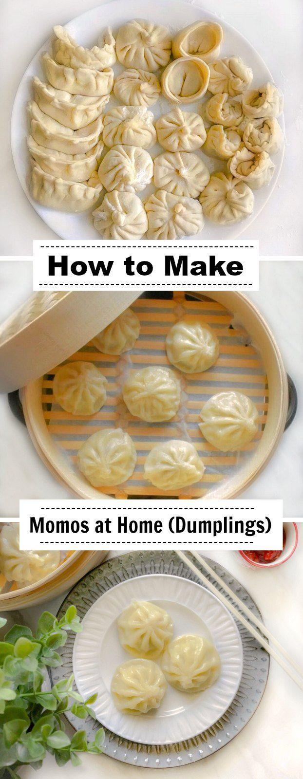 How to Make Momos at Home: #momos #dumplings #chinese