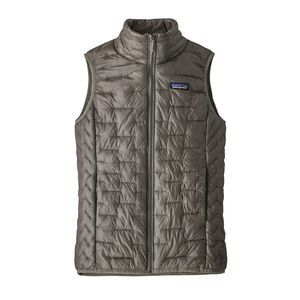 W's Micro Puff® Vest, Feather Grey (FEA)