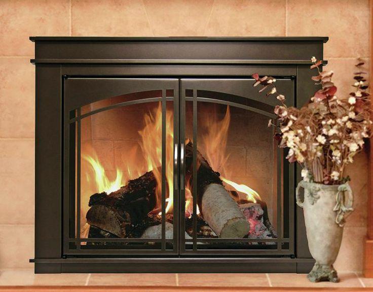 Fenwick Cabinet Style Steel Fireplace Doors Home Design
