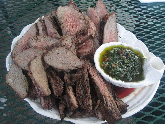 Grilled Tri-Tip and Chimichurri