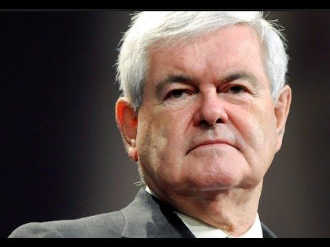 """IT'S OVER! NEWT GINGRICH EXPOSES COMEY""""S EVIL PLAN! - YouTube"""