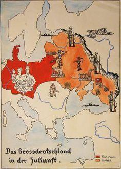 Zukunftsfantasien fűr  Deutsches Reich 1943.ABER VON WEM?