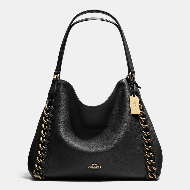 Coach Fall 2015 Edie Shoulder Bag With Large Whiplash