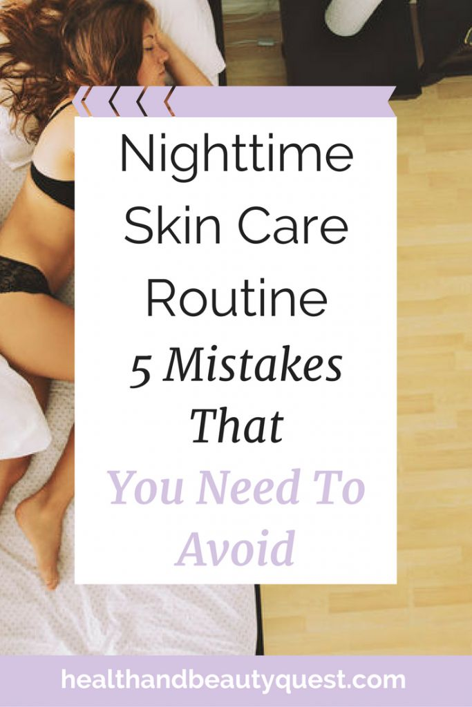 Are you so busy during the day, that when nighttime comes around, you fall asleep on the spot? I know the feeling! But these nighttime skin care routine mistakes could make you look waaay older than you actually do. I have 5 EASY fixes for you, promise they won't take up more than 5 mins of your snooze time! Click through to learn more or repn to save for later! <3
