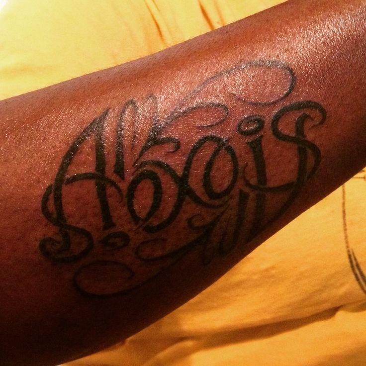 ambigram saying alexis my tattoo work pinterest sayings. Black Bedroom Furniture Sets. Home Design Ideas