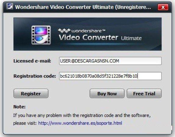 Wondershare Video Converter Ultimate 10 2 0 154 Serial Key