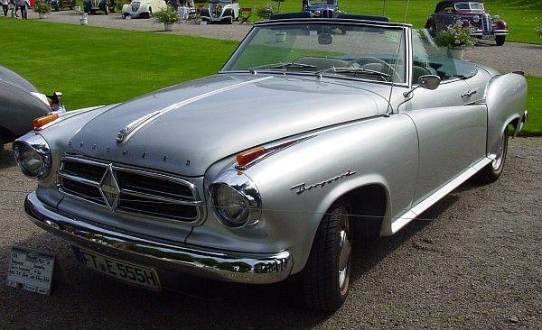Borgward Isabella cabriolet 1960