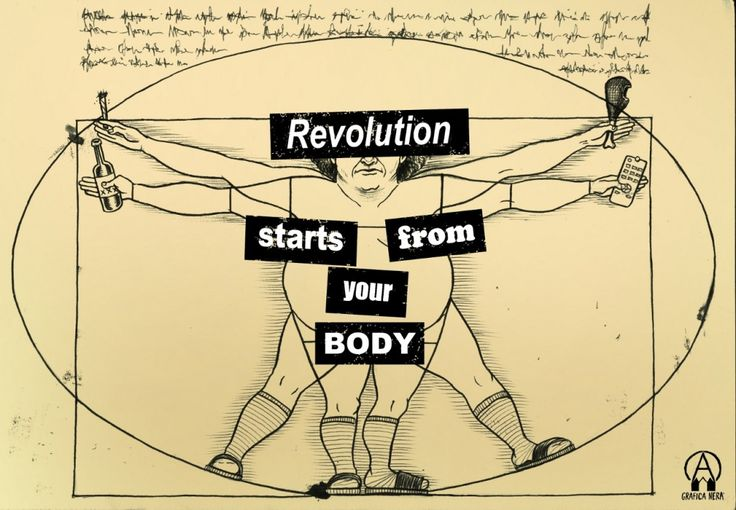 Grafica Nera - Revolution starts from your body
