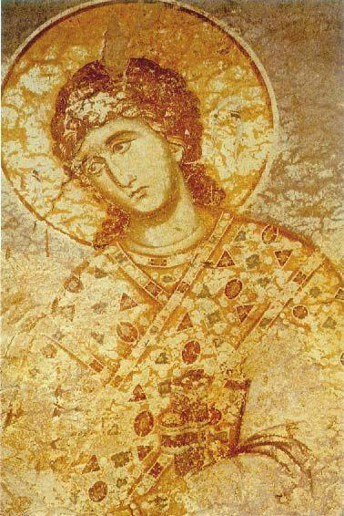Arhanghelul Gavriil - Manuil Panselinos - Manastirea Protaton