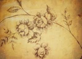 šedé květiny